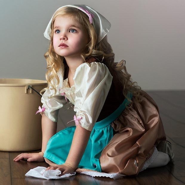 Cinderela-trajes-meninas-tweeny-cosplay-crian&ccedil