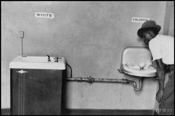 Segregación racial al sur de EE.UU.
