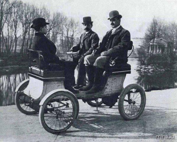 Vehículo de 1900.