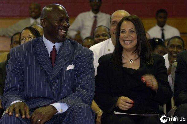 Michael Jordan e Juanita Jordan