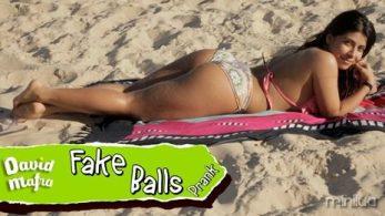 fake balls pegadinha