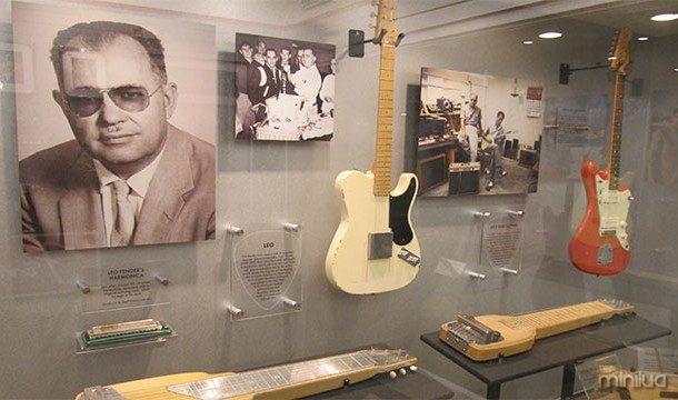 Leo Fender, o homem que inventou a Telecaster e Stratocaster, não podia tocar guitarra
