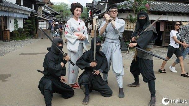Os guerreiros Ninja