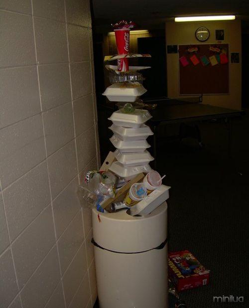 balanceamento de lixo