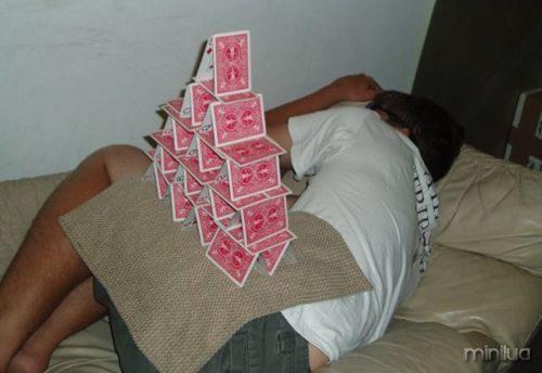 cartões de balanceamento
