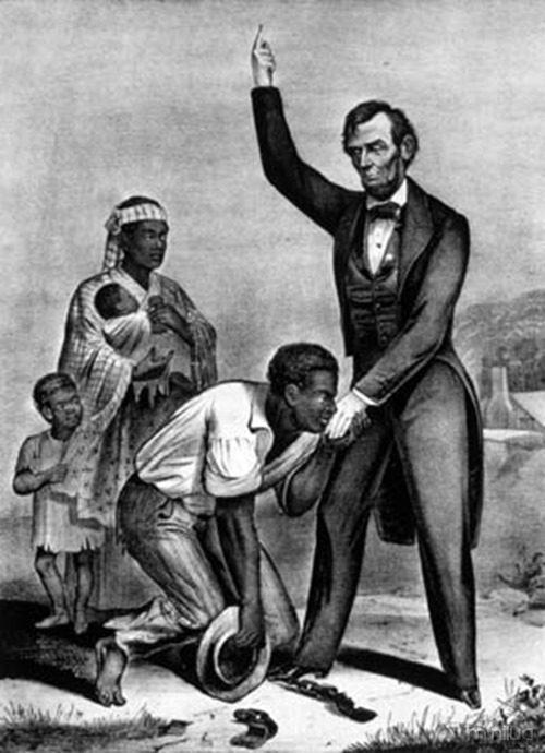 lincoln end slavery