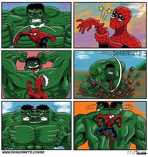 dragonarte_aranha_vs_hulk_post
