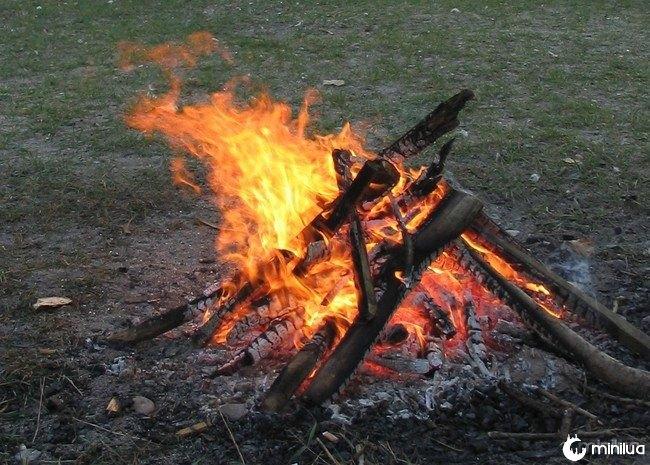 Cozinhe em fogo