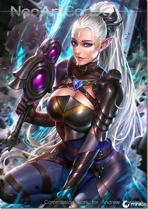 elf_warrior_oc_adalia_by_neoartcore-d9w8xdc