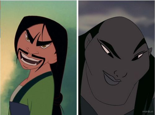 6. Mulan and Shan Yu