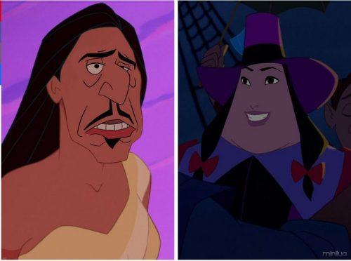 Pocahontas and Governor Ratcliffe