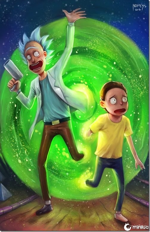 rick_and_morty_by_nopeys-d9sgvvk