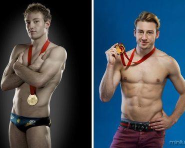 Tente descobrir qual o esporte desses atletas somente pelos seus corpos