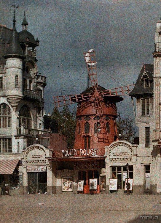 Moulin em Paris 1914