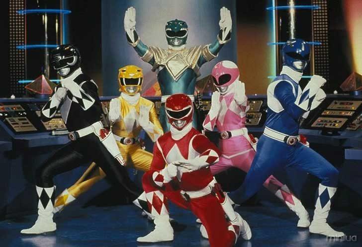 primeiro programa de Power Rangers