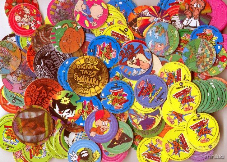 tazos infância na década de 90