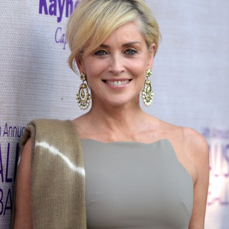 LOS ANGELES, CA - JUNE 06: Actress Sharon Stone attends the 14th annual Chrysalis Butterfly Ball sponsored by Audi, Kayne Anderson, Lauren B. Beauty and Z Gallerie on June 6, 2015 in Los Angeles, California. (Photo by Jason Kempin/Getty Images for Chrysalis Butterfly Ball)