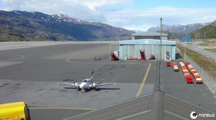 Aeropuerto Narsarsuaq, Groenlandia