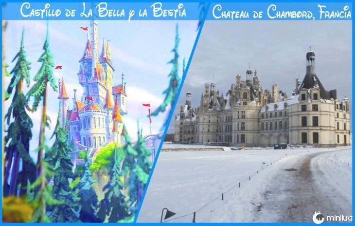 Castelo beleza e bestiareal e Disney