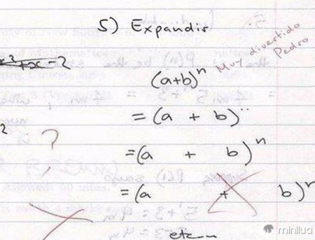 Matemática ao pé da letra.