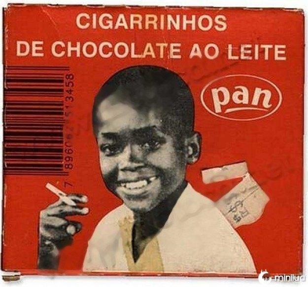 Cigarrinhos de chocolate Pan.
