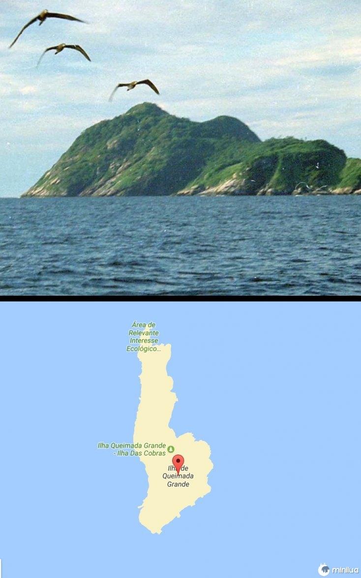 Isla da Queimada Grande