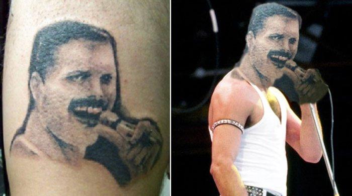 pior tatuagem rosto troca 11