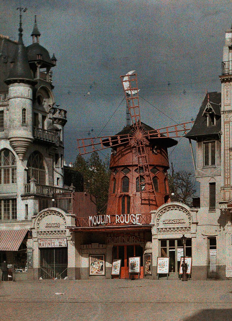 Moulin Rouge, Paris, 1914