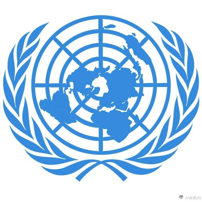 Bandeira dos terraplanistas das Nações Unidas