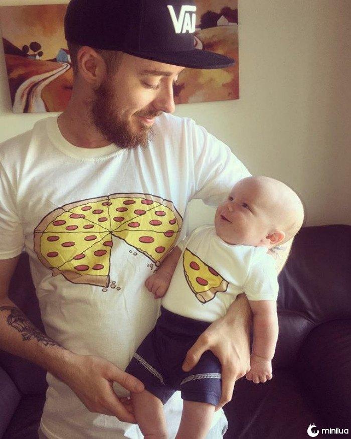 Pares criativos de camiseta