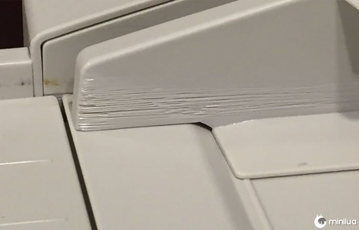 Fax Machine/Scanner Used So Heavily, The Paper Has Cut The Plastic Over Time