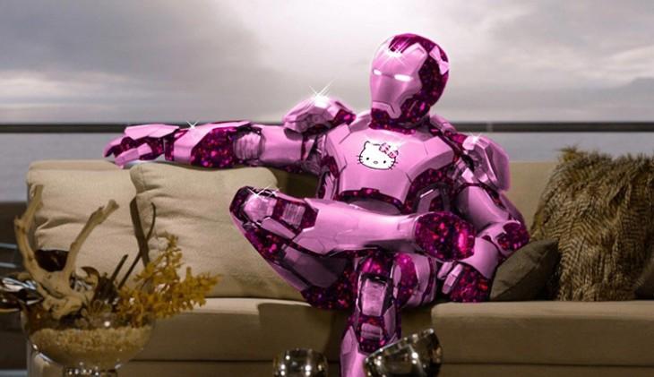 Iron Man de Hello Kitty