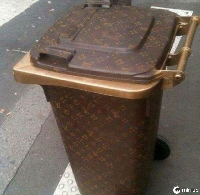 basura louis vuitton dubai