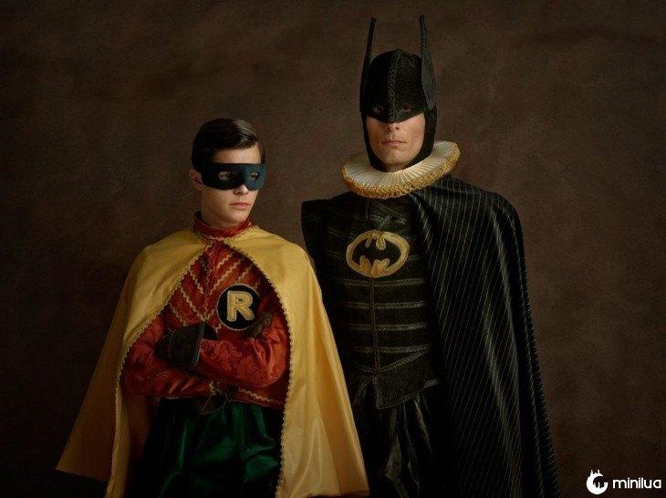 Batman e Robin século XVI