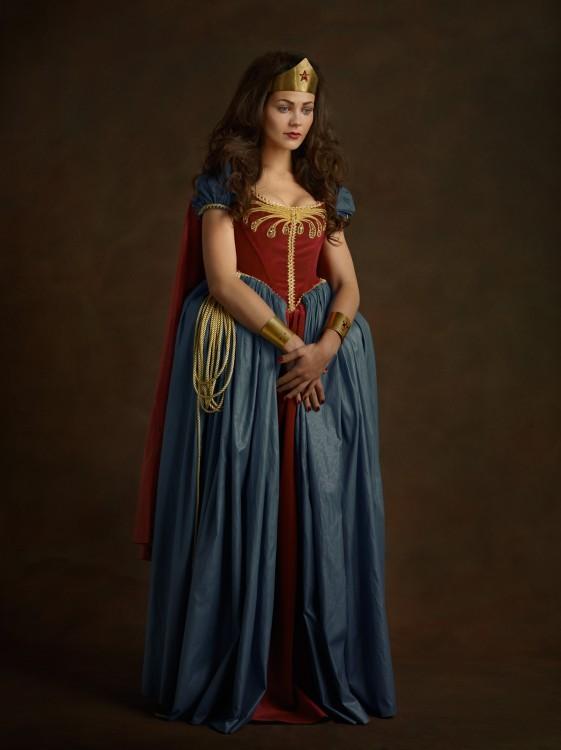 Super-heróis e vilões da Mulher Maravilha século 16