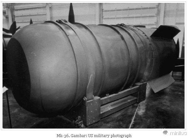 O MK-36 de bomba