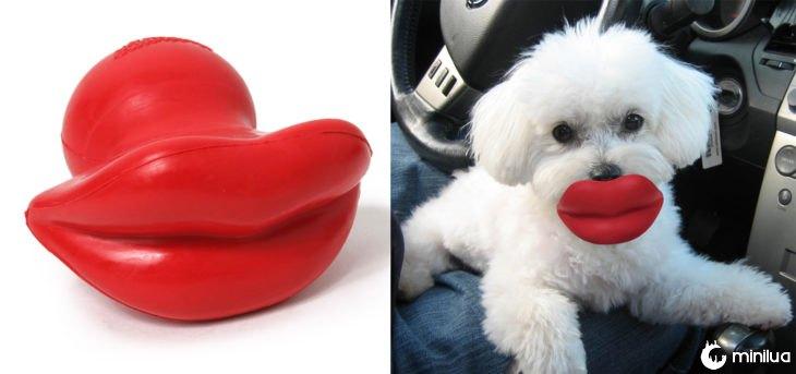 produtos do cão - lábios brinquedo do cão