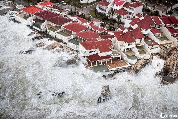 As Consequências do Furacão Irma em São Martinho