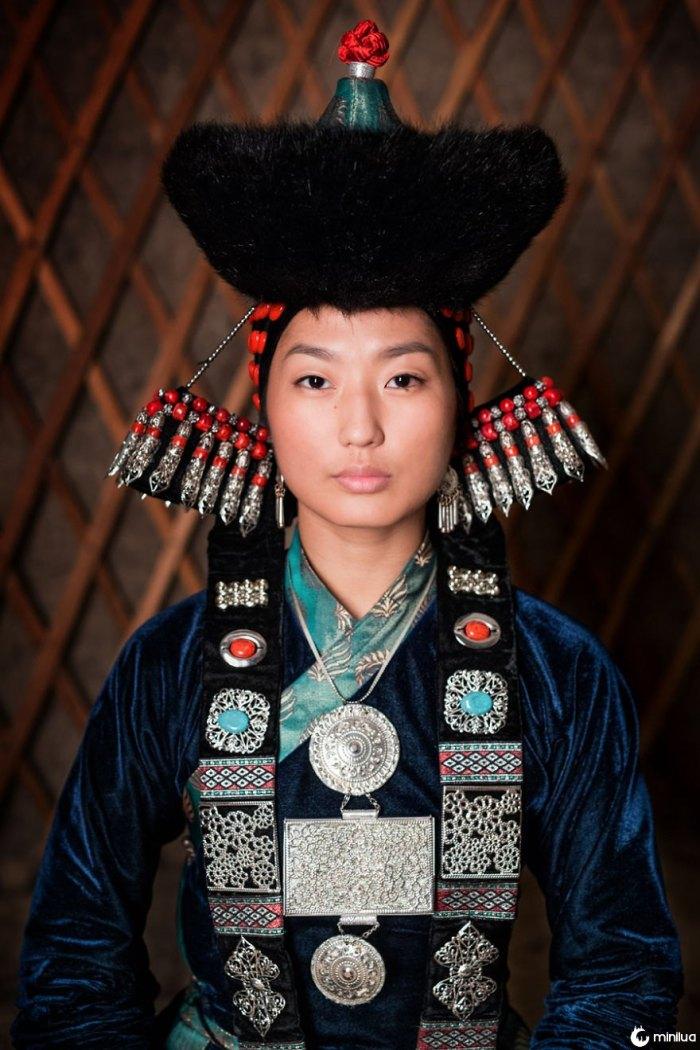 Buryat Young Woman