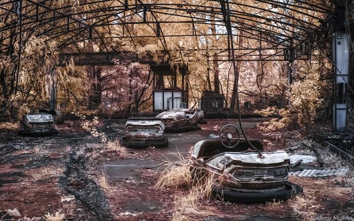 Bumper Cars no Pripyat's Amusement Park