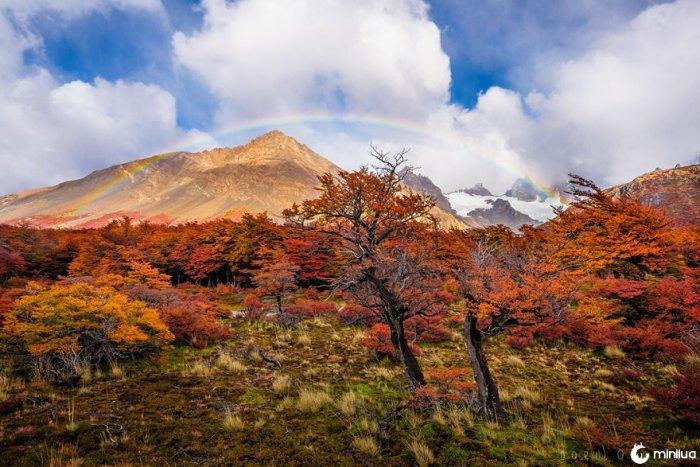 O fim da terra está cheio de cores