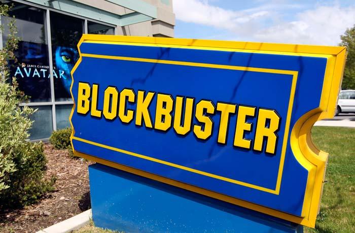 sinal de publicidade com azul e amarallio