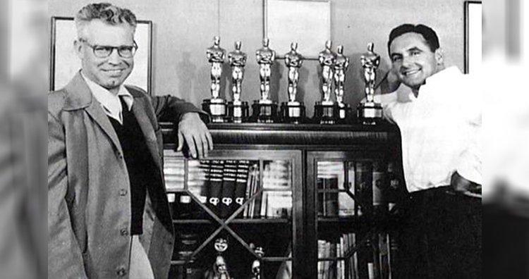 William Hannah e Joseph Barbera com sete prêmios Oscar de Melhor Curta-Metragem