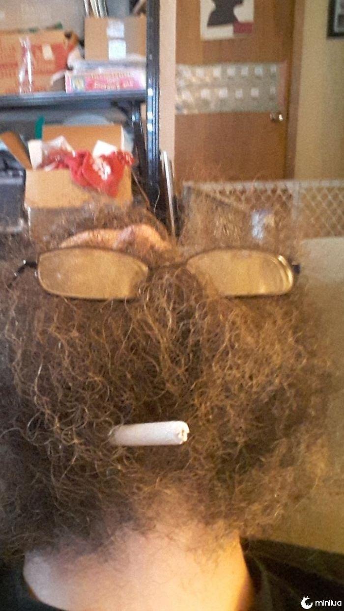 Smokin Beard!