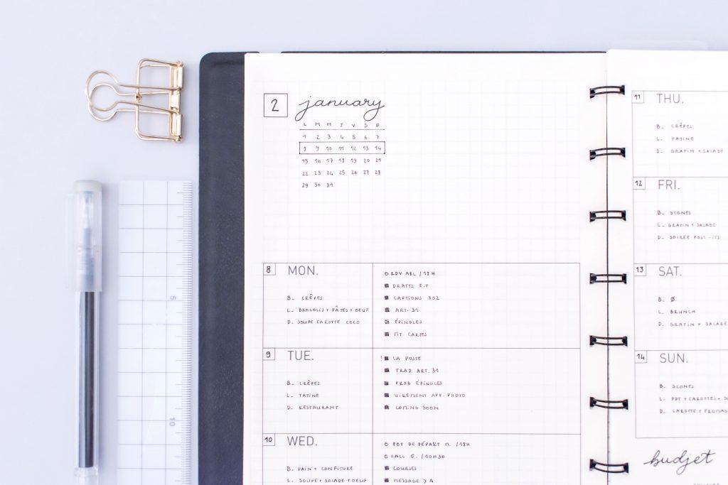 Printable Task Calendar