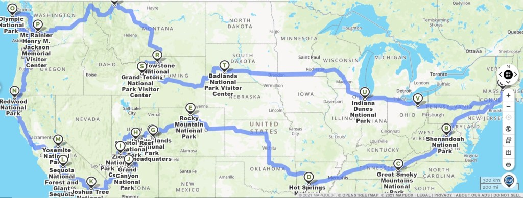 The Ultimate National Park RV Road Trip