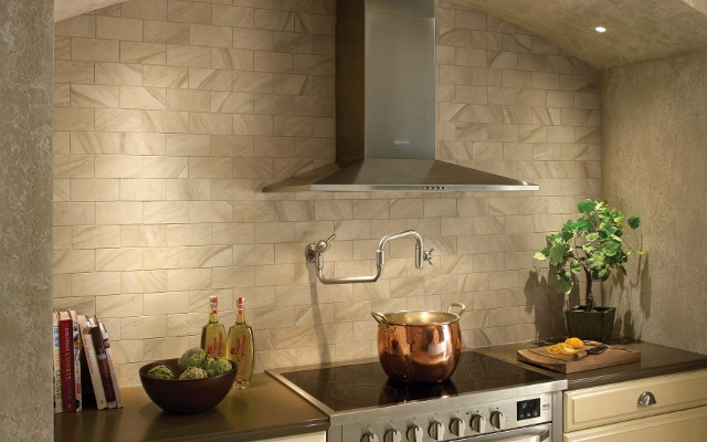 Installing Ceramic Tile Wall For Kitchen Area