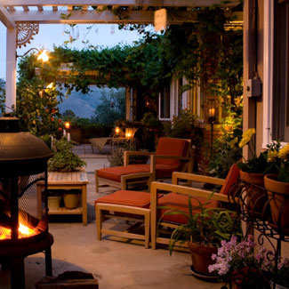 Some Cheap Outdoor Decor Ideas, Walls, Doors, Patio and ... on Economical Patio Ideas  id=72840