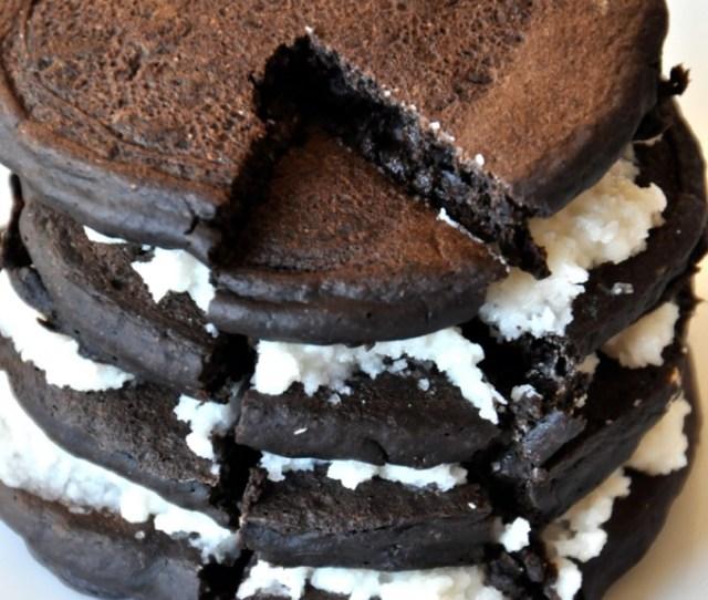 Oreo Cookie Pancakes Minimalistbaker