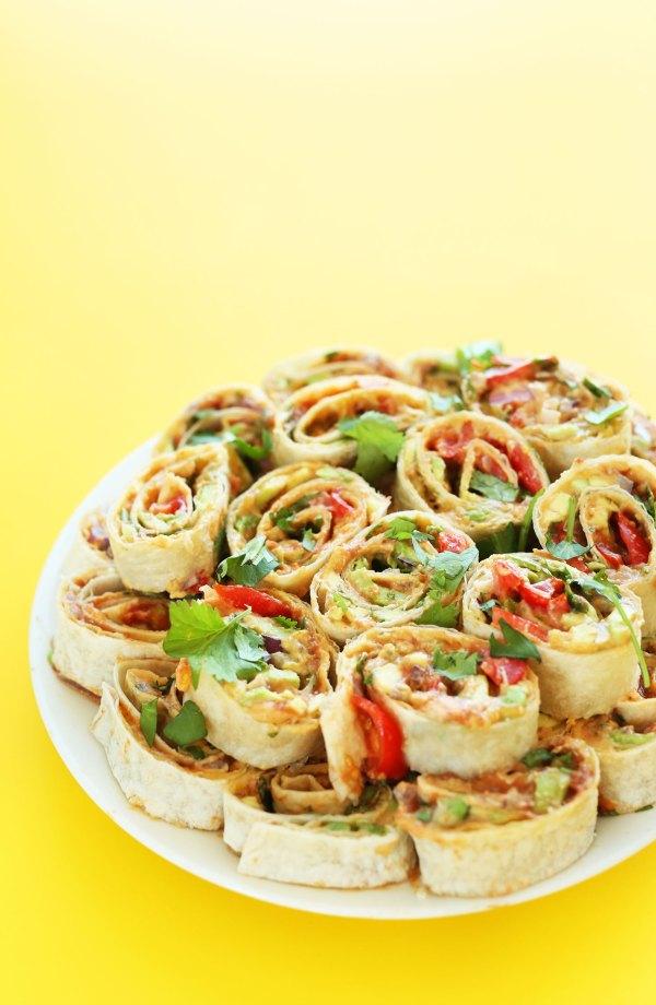 Mexican Pinwheels | Minimalist Baker Recipes